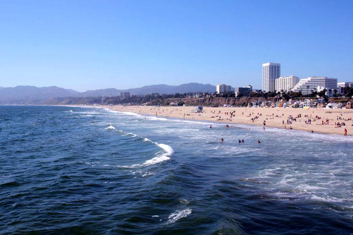 洛杉磯景點-聖塔莫妮卡Santa Monica