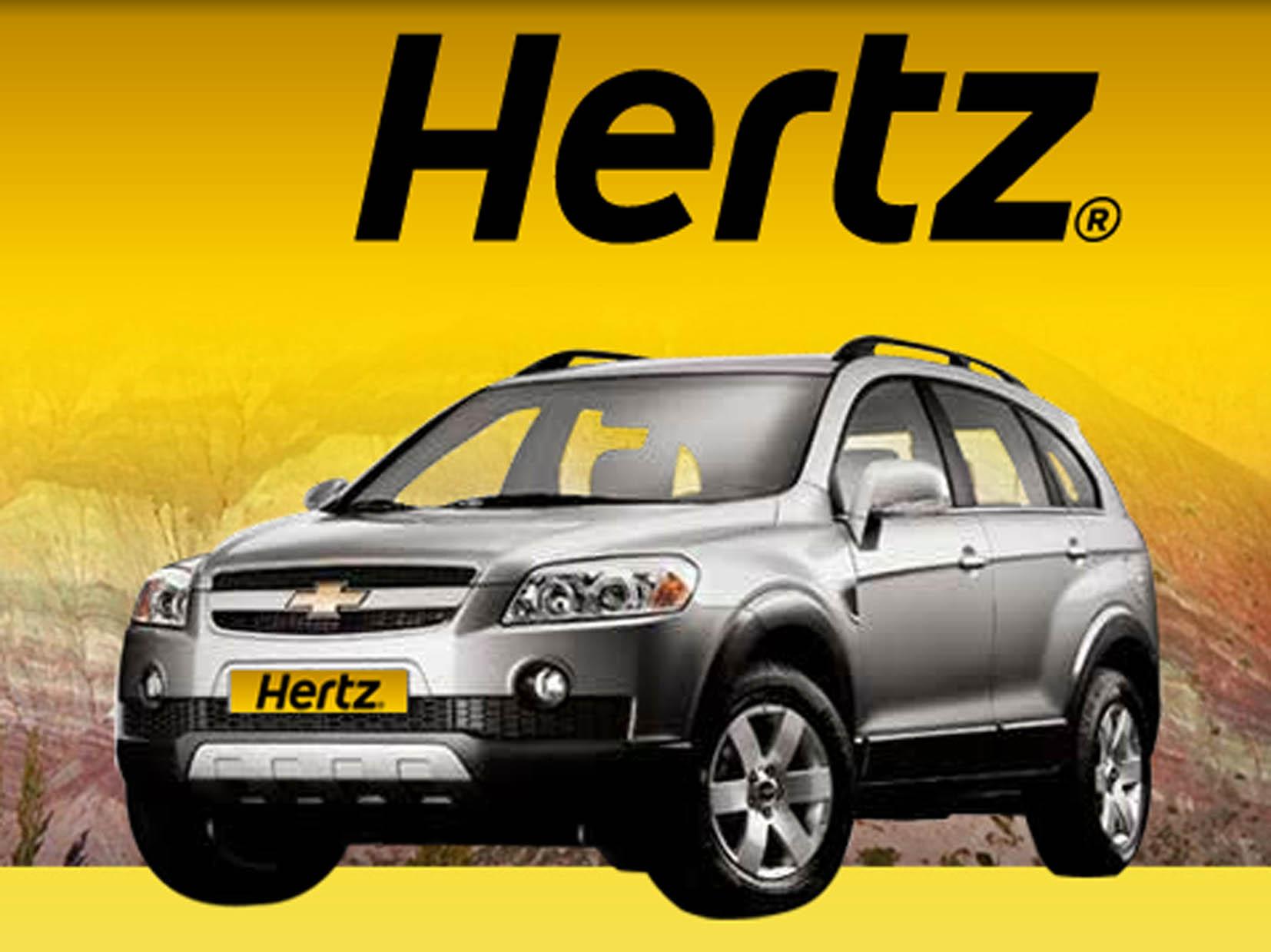 美國租車-HERTZ