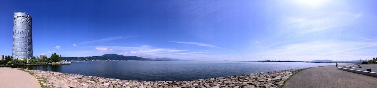 滋賀琵琶湖