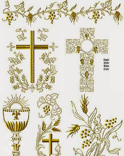 免費十字架刺繡圖案下載