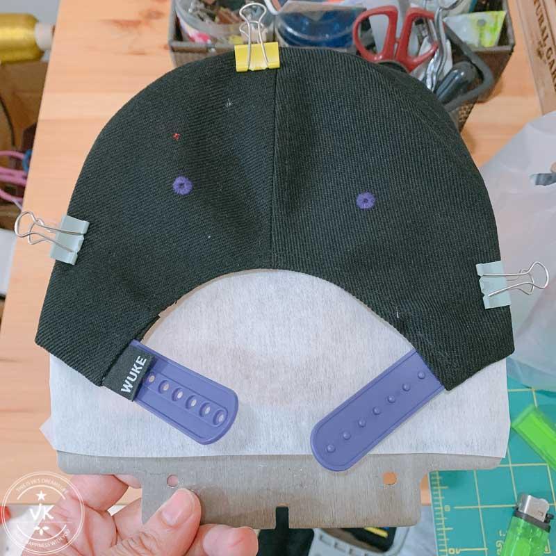 brother刺繡帽框