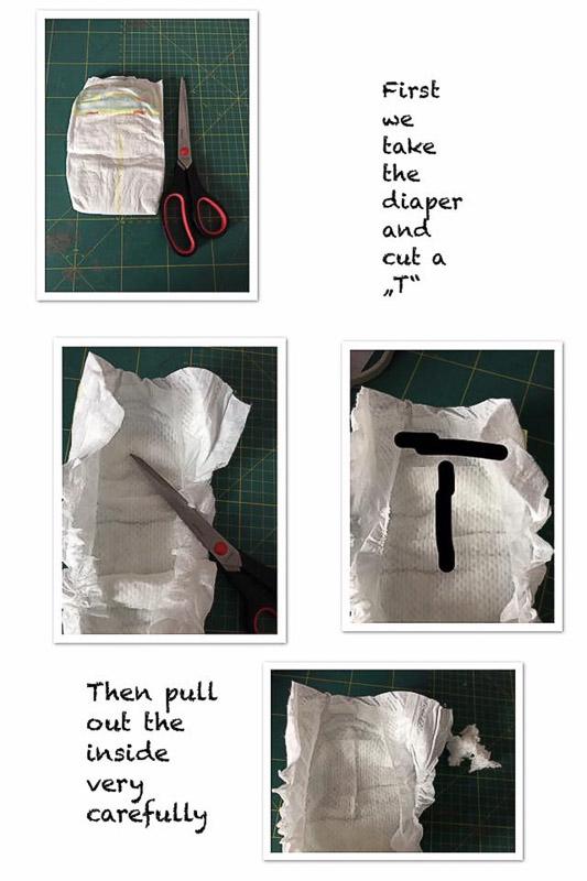 尿布相框新生兒禮物製作方法
