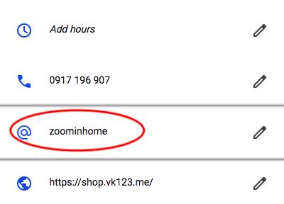 google 我的商家設訂短網址